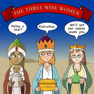 CANX50 - Three Wise Women Christmas Card For Her